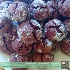 Chocolate crable cookies, pattogós csokis - liszt&morzsa