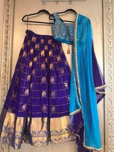 Half Saree Lehenga, Kids Lehenga, Lehnga Dress, Lehenga Blouse, Indian Lehenga, Long Gown Dress, Ghagra Choli, Bridal Lehenga, Sari