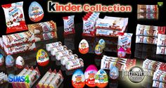 Jomsims Creations : Kinder Collection.