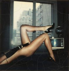because who wouldn't want to be in a Helmut Newton polaroid?