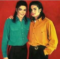 Two Michael (♥-♥). Double beauty, gorgeousness, wonder and extraordinary o(≧∇≦)o .