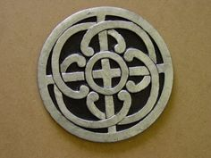 Celtic knot stepping stone mold