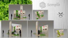 EFECTO ANCHOA, diseñó a SEMPIO, su stand para su presencia en Alimentaria 2014, Barcelona