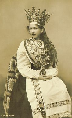 Norwegian Fairy Tale Princess Folkloric by TheVintageProphecy