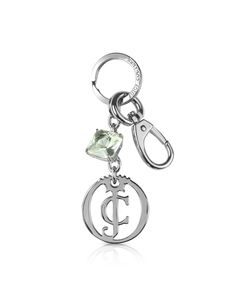 Juicy Couture Silver Couture Yourself Key Fob at FORZIERI