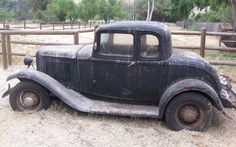Hot Rod Material: 1932 Ford 5-Window Coupe - http://barnfinds.com/hot-rod-material-1932-ford-5-window-coupe/