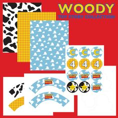 Printables of Woody
