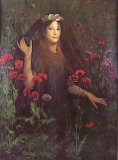 Death the Bride by Thomas Cooper Gotch (ARC)