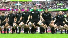 Rugby World Cup 2015 First All Blacks Haka of Rugby World Cup 2015