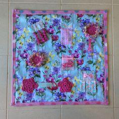 A personal favourite from my Etsy shop https://www.etsy.com/au/listing/593488008/aqua-pink-handmade-sensory-quilt-fidget