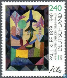 Postage Stamps - Germany, Federal Republic [DEU] - Paul Klee