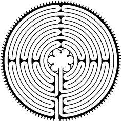 labyrinthe de Chartres  http://www.labyreims.ca/chartres.html