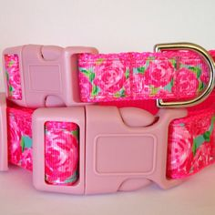Lilly Pulitzer HPFI Inspired Dog Collar / Lilly by SunshineandSass