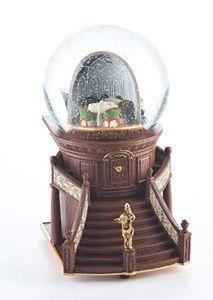 RMS Titanic Ship's Interior Snow Globe 100th Anniversary Collectible