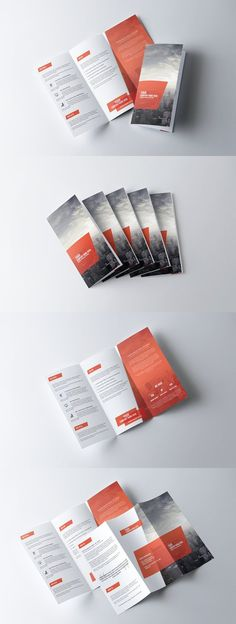 corporate tri fold brochure template brochure templates - Free Handout Templates