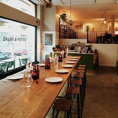 Originally serving crazy yummy Swedish food in their cafe & restaurant, Sixten & Frans recently opened their bar to the public.