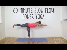 60 Minute Slow Flow Power Yoga — YOGABYCANDACE