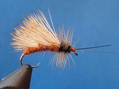 Hammer Creek Fly Fishing ties an October Caddis
