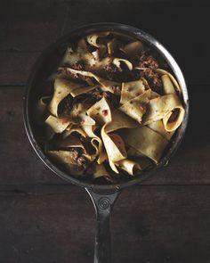 Classic Bolognese with Homemade Tagliatelle + Buffalo Mozzarella — a Better Happier St. Sebastian