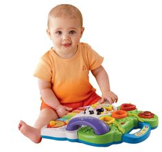 Baby  Sit-to-Stand Learning Walker Toddler MusicToy Educational Play Piano