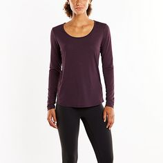 Long Sleeve Workout Tee *** Check this awesome product by going to the link at the image.