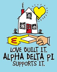 Since Alpha Delta Pi has been committed to serving Ronald McDonald House Charities! Love this shirt idea!