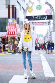 ストリートスナップ原宿 - 山本 英奈さん | Fashionsnap.com