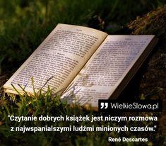 WielkieSlowa.pl - Strona 29 z 1707 - Cytaty, sentencje i aforyzmy, które odmienią Twój dzień! Author Quotes, Literary Quotes, Motto, Letter Board, Fangirl, Books, Fotografia, Hobbies, Livros