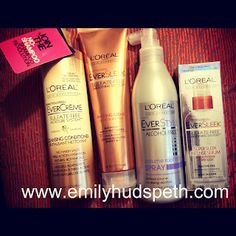 Great products for Loreal and the amazing deals that I got from CVS coupons and ExtraBucks