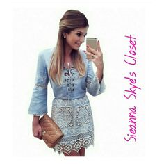 Gorgeous v neck lace patchwork dress! How gorgeous is this v neck lace patchwork dress! Casual longsleeve. Price is firm unless bundled! :) Dresses Midi