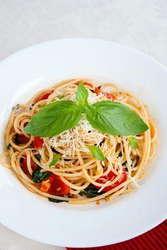 Whole-Wheat Spaghetti with Swiss Chard and Pecorino Cheese Recipe