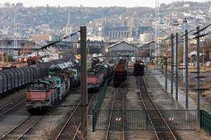 Gare de triage, Sotteville-Les-Rouen
