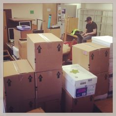 #moving #boxes #campus