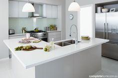 Bunnings Kitchen Design - grey malamine?