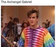 Everyone has that phase, Gabriel. Supernatural Destiel, Castiel, Decimo Doctor, Richard Speight, Archangel Gabriel, Super Natural, Superwholock, Best Shows Ever, Fangirl