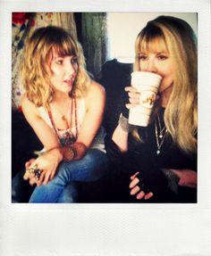 Stevie Nicks with her niece, Jessi Nicks