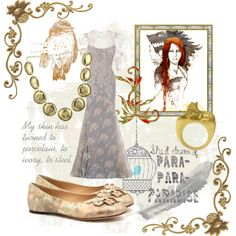 """""""Porcelain, to Ivory, to Steel"""" by sweetassugar3239 on Polyvore"""