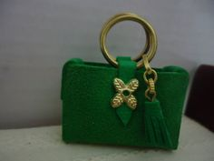miniature handbag and wallet by MINISSU on Etsy, $5.99
