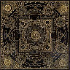 Black Temple-Mandala