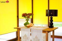Słoneczny kolor w Twoim salonie