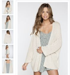 $52 Brandy Melville Caroline Cardigan I seriously want this! I'm going to purchase it for this coming fall