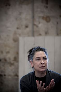 Pamela Rabe - The Glass Menagerie at Belvoir St Theatre (Rehearsals) — Production images by Brett Boardman