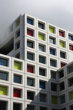 No word on this. Again, I just love a touch of playfulness to an otherwise ordinary structure. Add a little colour, it won't break the bank and it changes everything.