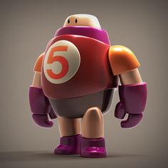 Behance :: #Botober ROBOTS by Steve Talkowski