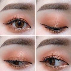 アイメイクの達人って!?オルチャンメイクは韓国インスタグラマーから学ぼう♡♡ | 韓国情報サイト 모으다[モウダ] Day Eye Makeup, Wedding Eye Makeup, Korean Eye Makeup, Makeup Eye Looks, Simple Eye Makeup, Asian Makeup, Eye Makeup Tips, Kiss Makeup, Makeup Inspo
