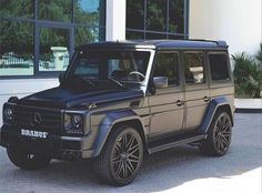 Matte black G-Wagon                                                       …