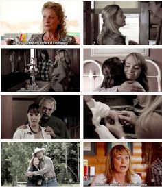 Lisa: Heartland is my home. I don't drop in and buy a gift at the souvenir shop like you do in India and Morocco. I've chosen it. This is my life. Why do you feel that you have the right to judge it? (10x05)