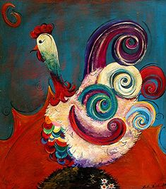 https://i.pinimg.com/736x/66/53/80/665380a7f6e3f49a445f766c1ffcd325--chicken-painting-chicken-art.jpg