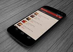 Pub search Android app