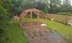 Drivhus i haven: Hjemmelavet drivhus